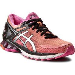 Buty ASICS - Gel-Kinsei 6 T692N Peach melba/Silver/Pink Glow 7693. Czerwone obuwie sportowe damskie Asics, z materiału. W wyprzedaży za 429.00 zł.