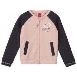 S.Oliver Bluza Dziewczęca 104 - 110 Różowy/Czarny. Czarne bluzy dla dziewczynek S.Oliver, z bawełny. Za 119.00 zł.