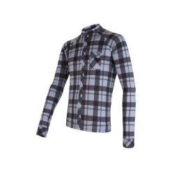 Sensor Koszulka Rowerowa W Kratę Black/Gray  L. Czarne koszulki sportowe męskie Sensor, z materiału. W wyprzedaży za 229.00 zł.