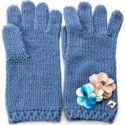 Rękawiczki Damskie TWINSET - Guanti OA7T6U Anice 00279. Niebieskie rękawiczki damskie Twinset, z materiału. W wyprzedaży za 229.00 zł.