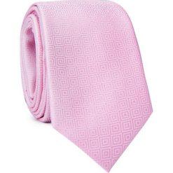 Krawat KWRR001554. Czerwone krawaty i muchy Giacomo Conti, w geometryczne wzory, z mikrofibry. Za 69.00 zł.