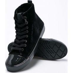 Calvin Klein Jeans - Trampki Debby. Czarne trampki i tenisówki damskie Calvin Klein Jeans, z jeansu. Za 379.90 zł.
