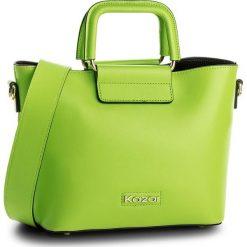 Torebka KAZAR - Valence 32887-01-09 Zielony. Zielone torebki do ręki damskie Kazar, ze skóry. W wyprzedaży za 499.00 zł.