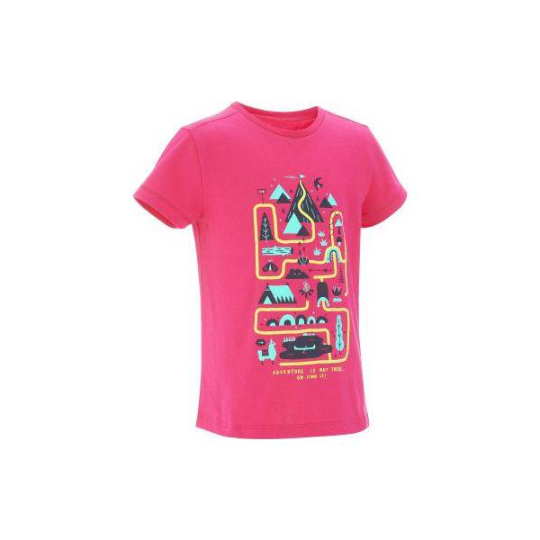 e0e9c54f30d534 Koszulka turystyczna MH100 dla dziewczynek - Bluzki dla dziewczynek ...