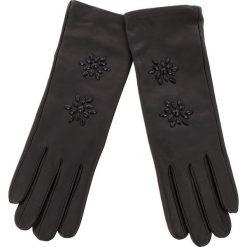Rękawiczki Damskie TWINSET - Guanti OA8T5E  Nero 00006. Czarne rękawiczki damskie Twinset, ze skóry. Za 389.00 zł.