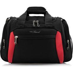 Torba na ramię V25-3S-236-13. Czarne torby na ramię męskie Wittchen, w paski. Za 125.00 zł.