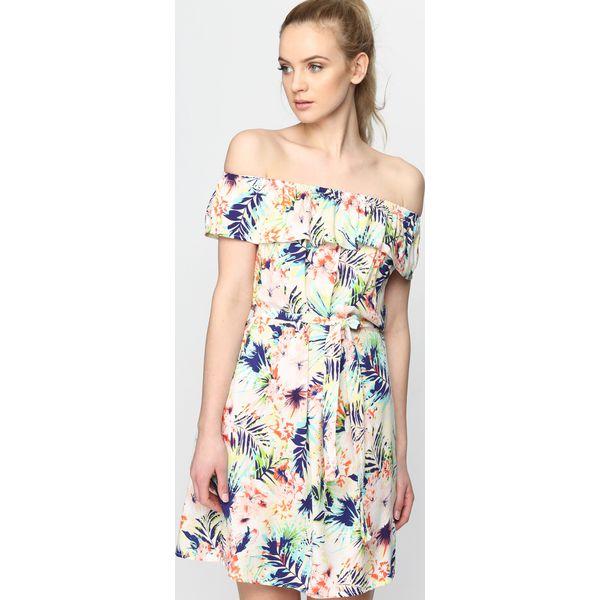 c3042dae04b7 Koralowa Sukienka Lemon Vogue - Sukienki damskie marki Born2be. Za ...