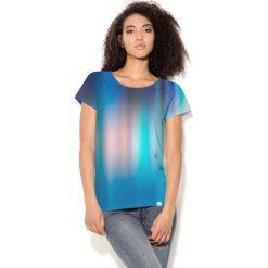 Colour Pleasure Koszulka CP-034  79 niebieska r. XL/XXL. Bluzki damskie marki Colour Pleasure. Za 70.35 zł.
