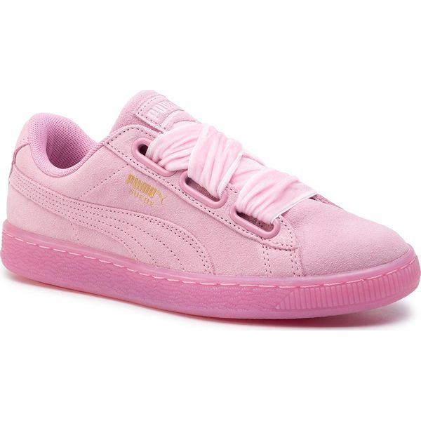 Sneakersy PUMA Suede Heart Reset Wn's 363229 02 Prism PinkPrism Pink