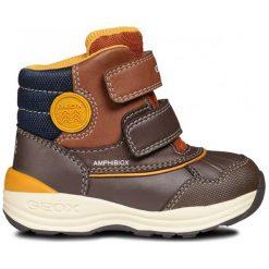 Geox Buty Zimowe Za Kostkę Chłopięce New Gulp 25 Brązowy. Brązowe buty zimowe chłopięce Geox. Za 349.00 zł.