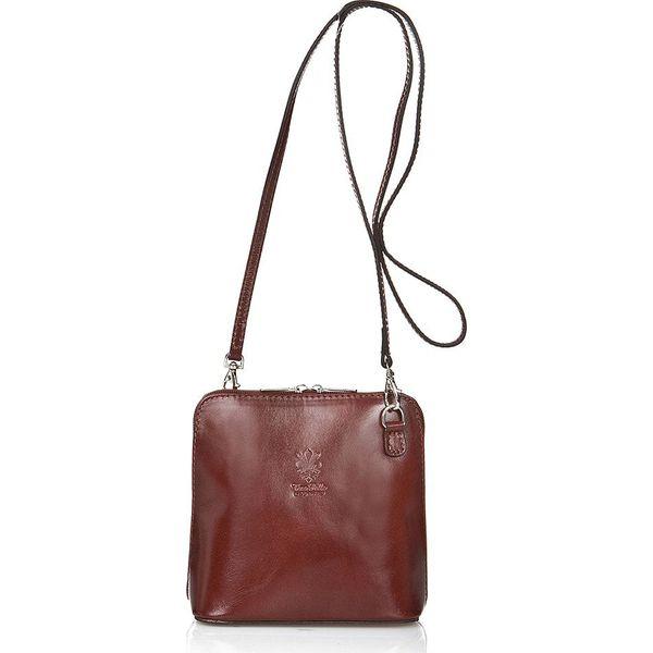 e173985561653 Skórzana torebka w kolorze brązowym - 14 x 6 x 19 cm - Torby na ...
