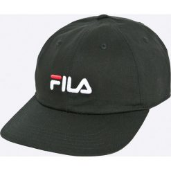 Fila - Czapka. Czarne czapki i kapelusze męskie Fila, z bawełny. W wyprzedaży za 119.90 zł.