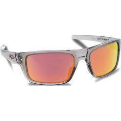 Okulary przeciwsłoneczne OAKLEY - Drop Point OO9367-0360 Grey Ink/Ruby Iridium. Szare okulary przeciwsłoneczne męskie Oakley, z tworzywa sztucznego. W wyprzedaży za 479.00 zł.