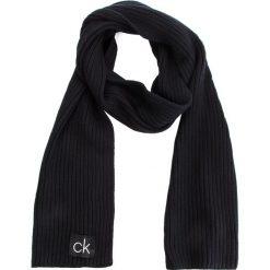 Szal CALVIN KLEIN - Basic Rib Scarf K50K504089 001. Czarne szaliki i chusty damskie Calvin Klein, z bawełny. Za 279.00 zł.