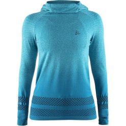 Craft Bluza Damska Core Fuseknit Hood Blue L. Niebieskie bluzy damskie Craft. Za 225.00 zł.