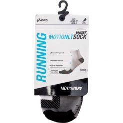Skarpety Wysokie Unisex ASICS - Running Motion Sock 130884  Real White 0001. Skarpety męskie Asics, z elastanu. Za 43.00 zł.