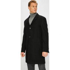 Pierre Cardin - Płaszcz. Czarne płaszcze męskie Pierre Cardin, z materiału, klasyczne. W wyprzedaży za 749.90 zł.