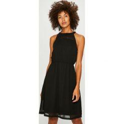 Only - Sukienka. Brązowe sukienki damskie Only, z tkaniny, casualowe, na ramiączkach. Za 169.90 zł.
