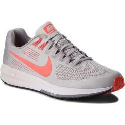 Buty NIKE - Air Zoom Structure 21 904695 006 Vast Grey/Bright Crimson. Szare buty sportowe męskie Nike, z materiału. W wyprzedaży za 379.00 zł.