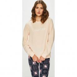 Calvin Klein Jeans - Bluza. Szare bluzy damskie Calvin Klein Jeans, z nadrukiem, z bawełny. Za 179.90 zł.