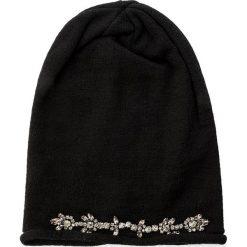 Czapka MARELLA - Crusca 65760176  S 002. Czarne czapki i kapelusze damskie Marella, z materiału. W wyprzedaży za 269.00 zł.