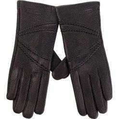 Rękawiczki Damskie WITTCHEN - 44-6-512-1 Czarny. Rękawiczki damskie marki B'TWIN. W wyprzedaży za 139.00 zł.