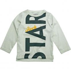 Koszulka w kolorze szarym. Szare t-shirty dla chłopców Gelati, z nadrukiem, z bawełny, z długim rękawem. W wyprzedaży za 49.95 zł.