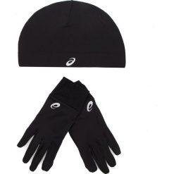 Zestaw Czapka i Rękawiczki ASICS - Running Pack 3013A035 Performance Black 001. Czarne rękawiczki męskie Asics, z elastanu. W wyprzedaży za 119.00 zł.