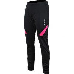 One Way Spodnie Damskie Ranya Softshell Pants Black/Pink S. Czarne spodnie sportowe damskie One Way, w paski, z softshellu. W wyprzedaży za 259.00 zł.