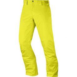 Salomon Męskie Spodnie Narciarskie Stormpunch Pant M Sulphur Spring Xl. Żółte spodnie snowboardowe męskie Salomon, na zimę. Za 565.00 zł.