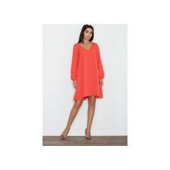 Sukienka M566 Czerwony. Czerwone sukienki damskie Figl. Za 149.00 zł.