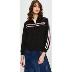 Trendyol - Bluza. Czarne bluzy damskie Trendyol, z bawełny. Za 79.90 zł.