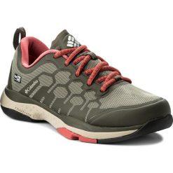 Buty COLUMBIA - ATS Trail FS38 OutDry BM2764 Cypress/Sunset Red 316. Zielone buty sportowe męskie Columbia, z materiału. W wyprzedaży za 289.00 zł.