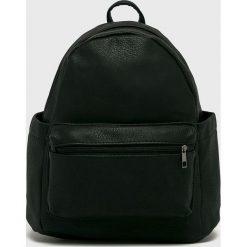 Answear - Plecak. Czarne plecaki damskie ANSWEAR, z materiału. W wyprzedaży za 59.90 zł.