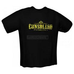 GamersWear CONSOLERO T-Shirt czarna (M) ( 5106-M ). Czarne t-shirty i topy dla dziewczynek GamersWear. Za 92.45 zł.
