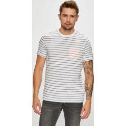 U.S. Polo - T-shirt. Szare koszulki polo męskie U.S. Polo, z bawełny. W wyprzedaży za 169.90 zł.