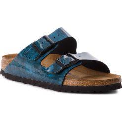 Klapki BIRKENSTOCK - Arizona Bs 1011137 Strong Blue. Niebieskie klapki damskie Birkenstock, ze skóry ekologicznej. W wyprzedaży za 249.00 zł.
