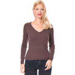 Sweter w kolorze brązowym. Brązowe swetry damskie Assuili, z kaszmiru. W wyprzedaży za 136.95 zł.
