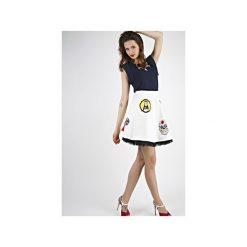 Spódnica LIKE A PRAYER biała. Białe spódnice damskie Missspark, z haftami, z bawełny. Za 299.00 zł.