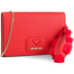 Torebka LOVE MOSCHINO - JC4285PP06KL0500 Rosso. Czerwone torebki do ręki damskie Love Moschino, ze skóry ekologicznej. Za 719.00 zł.