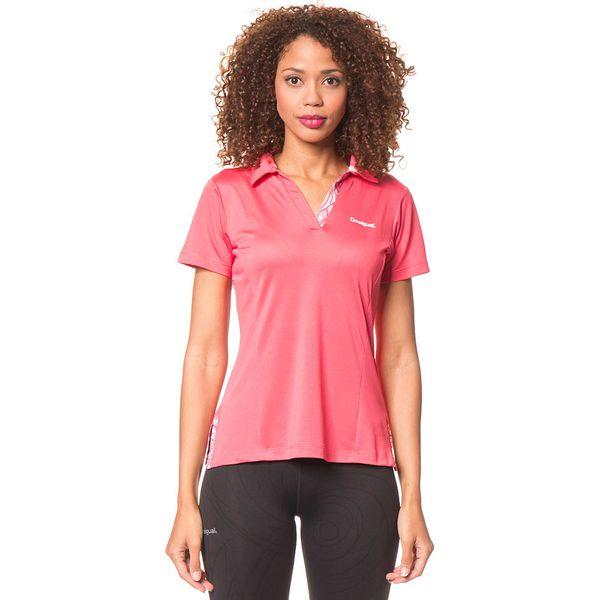 05925584c21419 Koszulka polo w kolorze różowym - Koszulki sportowe damskie marki ...