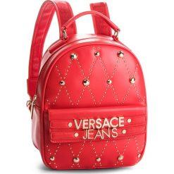 Plecak VERSACE JEANS - E1VSBBE7 70778 331. Czerwone plecaki damskie Versace Jeans, z jeansu, eleganckie. Za 789.00 zł.