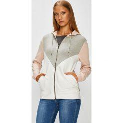 Roxy - Bluza. Szare bluzy damskie Roxy, z bawełny. W wyprzedaży za 259.90 zł.