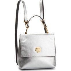 Plecak COCCINELLE - DD0 Liya E1 DD0 54 10 01 Silver/Noir 660. Szare plecaki damskie Coccinelle, ze skóry. Za 1,499.90 zł.