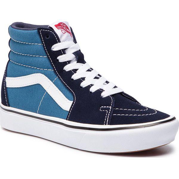 Sneakersy VANS Comfycush Sk8 Hi VN0A3WMBVNT1 (Classic) NavyStv Navy