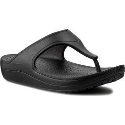 Japonki CROCS - Sloane Platform Flip W 200486 Black. Czarne klapki damskie Crocs, z tworzywa sztucznego. Za 129.00 zł.