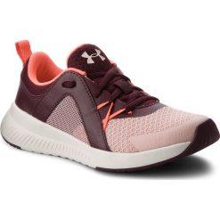 Buty UNDER ARMOUR - Ua W Intent Tr 3020243-601 Pnk. Czerwone obuwie sportowe damskie Under Armour, z materiału. W wyprzedaży za 189.00 zł.