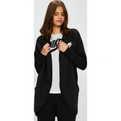 Nike Sportswear - Bluza. Czarne bluzy damskie Nike Sportswear, z bawełny. Za 279.90 zł.