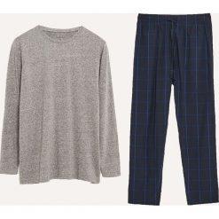 Dwuczęściowa piżama ze spodniami - Szary. Szare piżamy męskie Reserved. Za 99.99 zł.