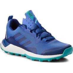 Buty adidas - Terrex Cmtk W AC7937 Hirblu/Mysink/Hiraqu. Niebieskie obuwie sportowe damskie Adidas, z materiału. W wyprzedaży za 279.00 zł.
